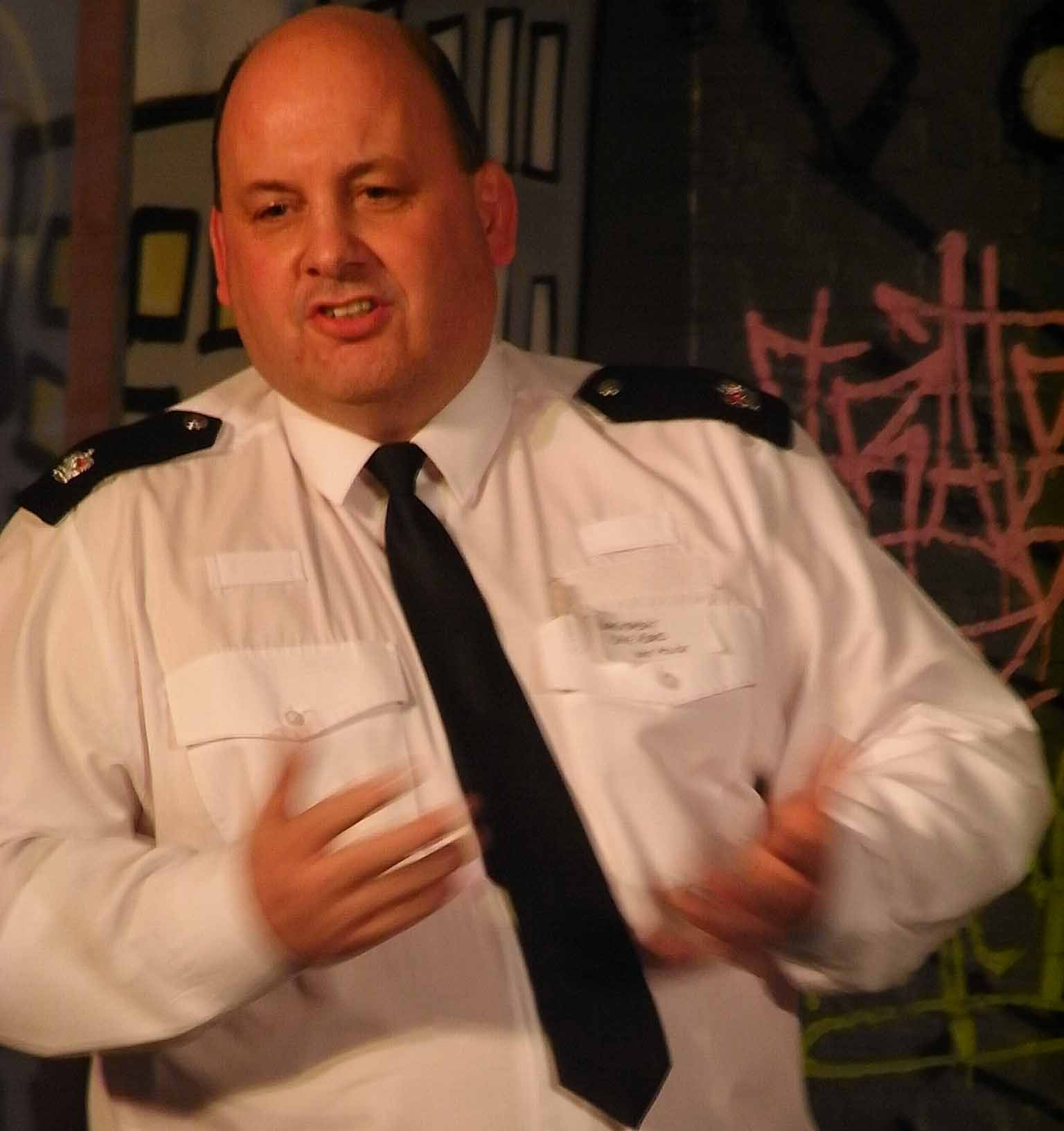 Barking and Dagenham's Acting Borough Commander Superintendent Dave Reed